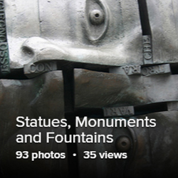 Statues Monuments and Fountains